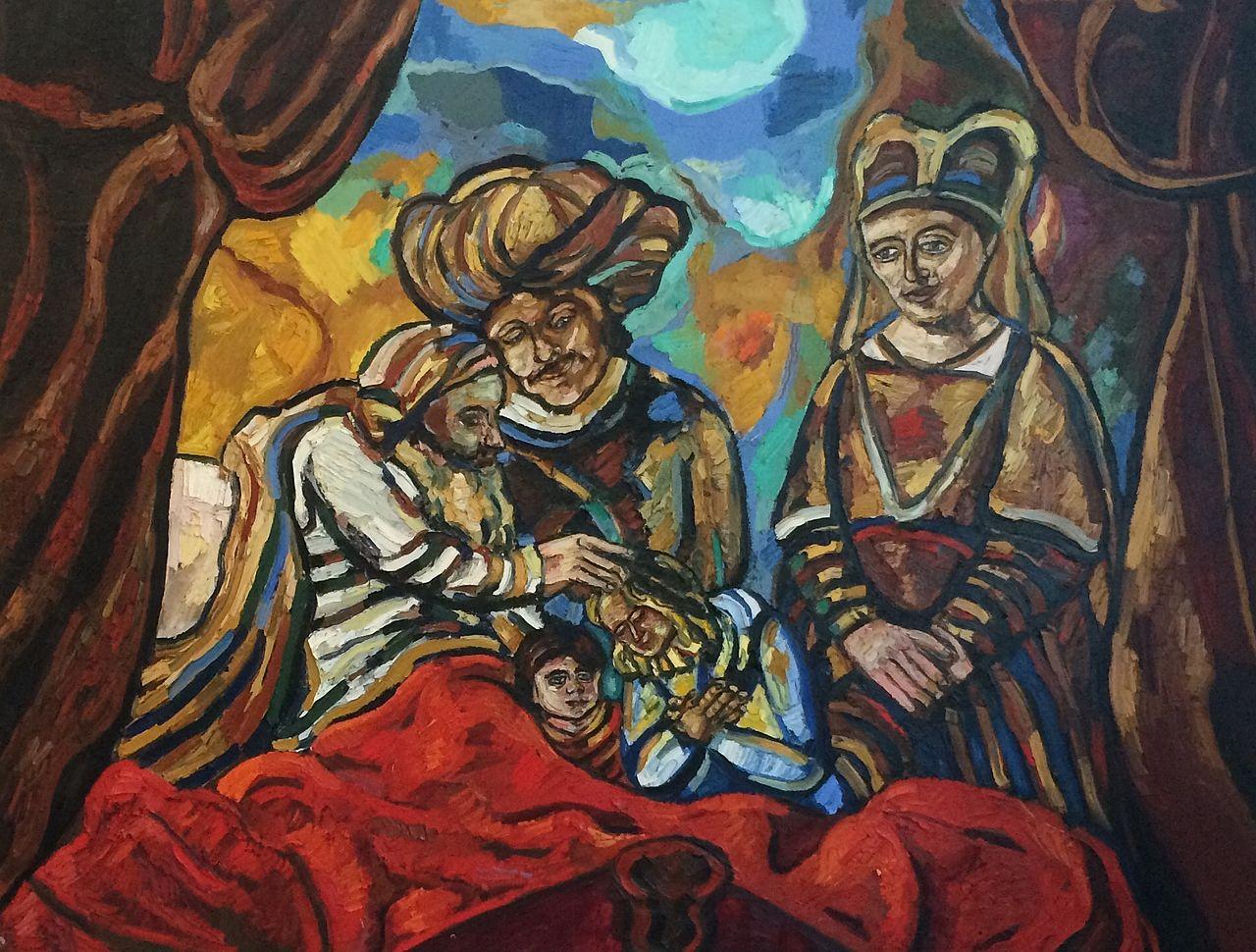 jacob blessing josephs children